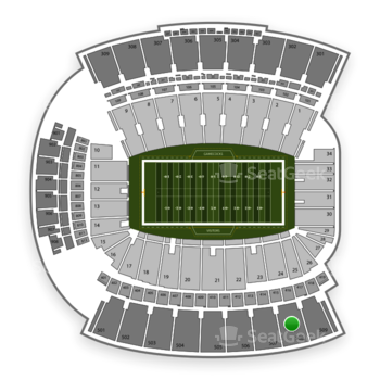 Williams-Brice Stadium Section 508 Seat Views | SeatGeek