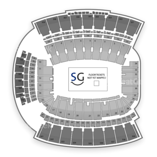 Williams-Brice Stadium Seating Chart Concert