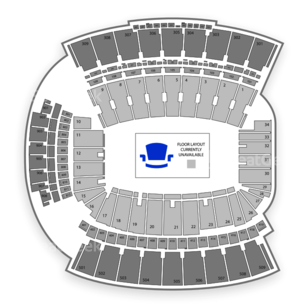 Williams Brice Stadium Seating Chart Concert