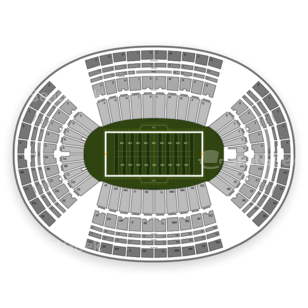 Hawaii Rainbow Warriors Football Seating Chart