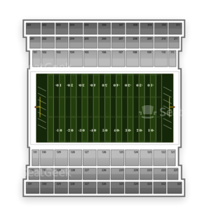 Buffalo Bulls Football Seating Chart
