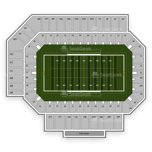 Middle Tennessee Blue Raiders Football Seating Chart