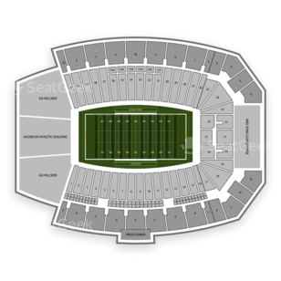 Iowa State Cyclones Football Seating Chart