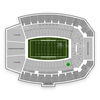 Iowa State Cyclones Football at Jack Trice Stadium Section 15 View