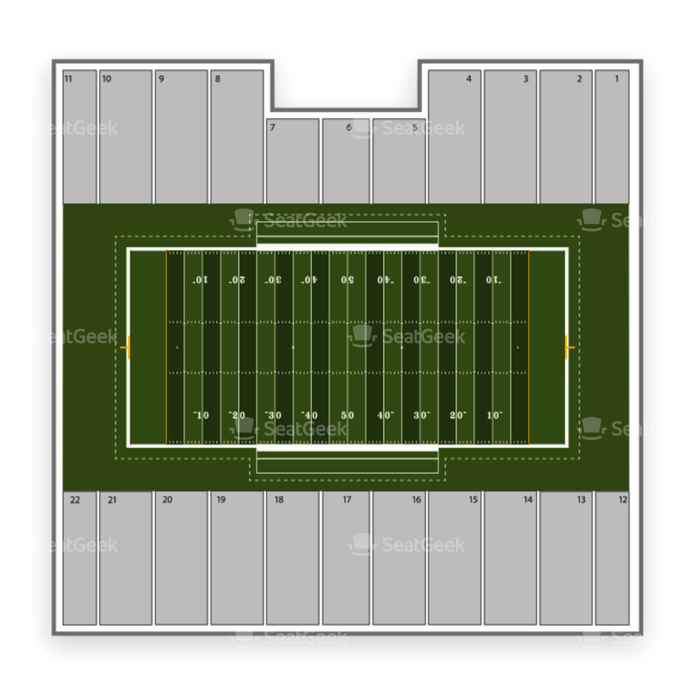 Idaho Vandals Football Seating Chart
