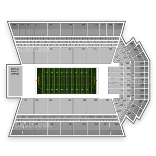 Donald W. Reynolds Razorback Stadium Seating Chart Concert
