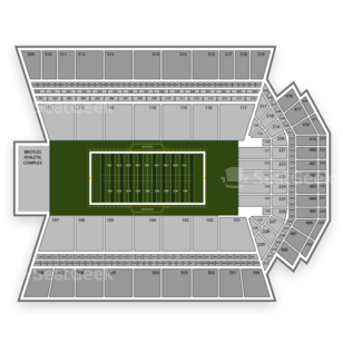 Razorback Stadium Seating Chart Parking