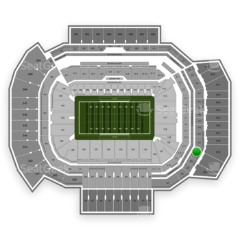 Texas A&M Aggies Football at Kyle Field Section 325 View