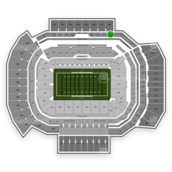Texas A&M Aggies Football at Kyle Field Section 311 View