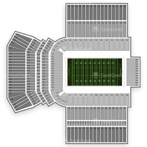 Kyle Field seating chart Texas A&M Aggies Football