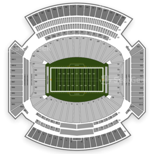 Bryant-Denny Stadium Seating Chart Concert