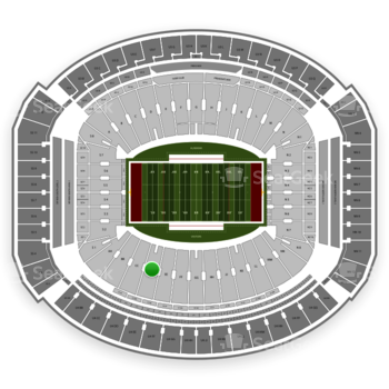 Alabama Crimson Tide Football at Bryant-Denny Stadium Dd View