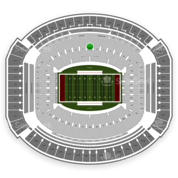 Alabama Crimson Tide Football at Bryant-Denny Stadium G View