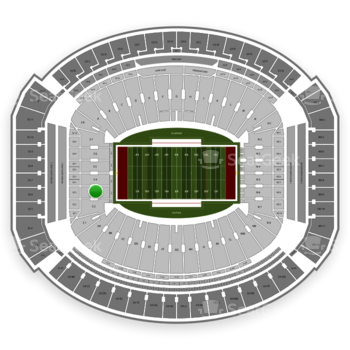Alabama Crimson Tide Football at Bryant-Denny Stadium S 3 View