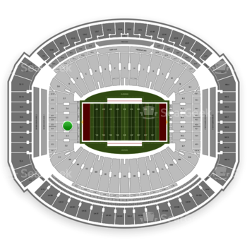 Alabama Crimson Tide Football at Bryant-Denny Stadium S 4 View