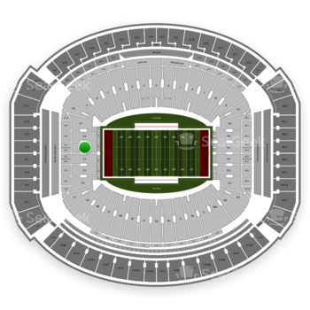 Alabama Crimson Tide Football at Bryant-Denny Stadium S 5 View