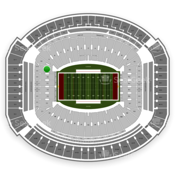 Alabama Crimson Tide Football at Bryant-Denny Stadium S 7 View