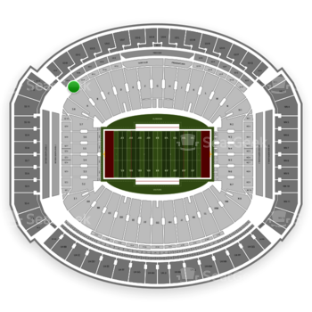 Alabama Crimson Tide Football at Bryant-Denny Stadium U 1 A View