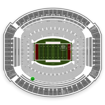 Alabama Crimson Tide Football at Bryant-Denny Stadium U 1 Cc View