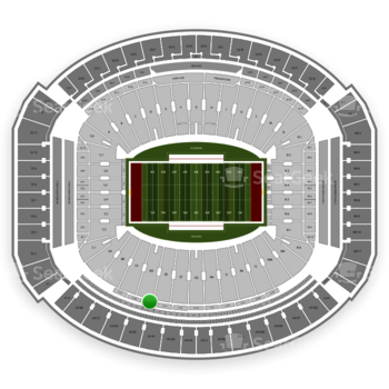 Alabama Crimson Tide Football at Bryant-Denny Stadium U 1 Ee View