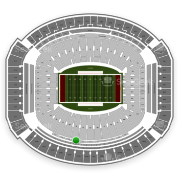 Alabama Crimson Tide Football at Bryant-Denny Stadium U 1 Ff View