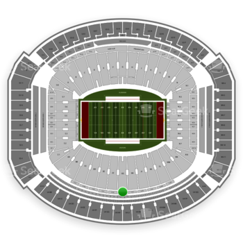 Alabama Crimson Tide Football at Bryant-Denny Stadium U 1 Hh View