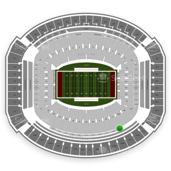 Alabama Crimson Tide Football at Bryant-Denny Stadium U 1 Nn View