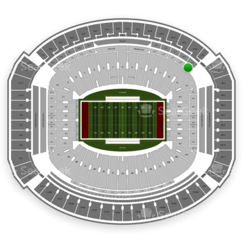Alabama Crimson Tide Football at Bryant-Denny Stadium U 1 R View