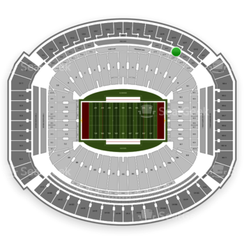 Alabama Crimson Tide Football at Bryant-Denny Stadium U 2 P View
