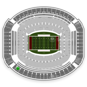 Alabama Crimson Tide Football at Bryant-Denny Stadium U 4 Bb View