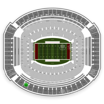 Alabama Crimson Tide Football at Bryant-Denny Stadium U 4 Cc View