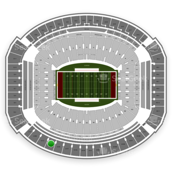 Alabama Crimson Tide Football at Bryant-Denny Stadium U 4 Dd View