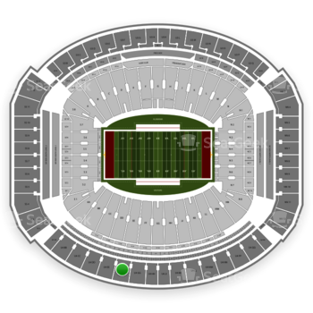 Alabama Crimson Tide Football at Bryant-Denny Stadium U 4 Ff View