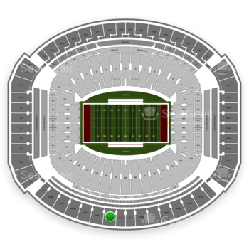 Alabama Crimson Tide Football at Bryant-Denny Stadium U 4 Gg View