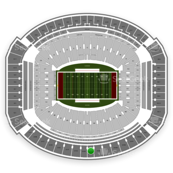 Alabama Crimson Tide Football at Bryant-Denny Stadium U 4 Jj View