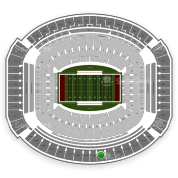 Alabama Crimson Tide Football at Bryant-Denny Stadium U 4 Kk View