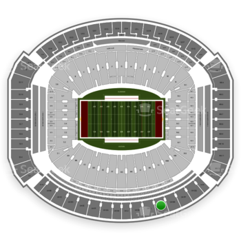 Alabama Crimson Tide Football at Bryant-Denny Stadium U 4 Mm View