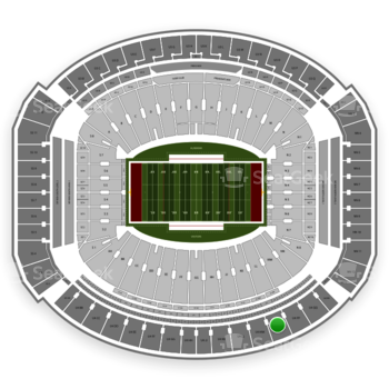 Alabama Crimson Tide Football at Bryant-Denny Stadium U 4 Nn View