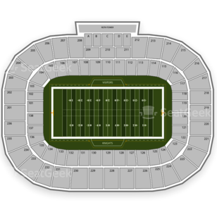 Bright House Networks Stadium Seating Chart NCAA Football