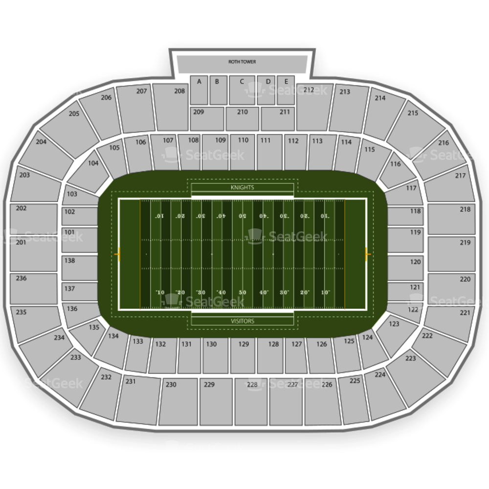 Spectrum Stadium Seating Chart Parking
