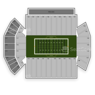 Iowa Hawkeyes Football Seating Chart