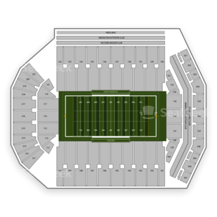 Kinnick Stadium Seating Chart Parking