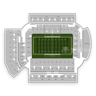 Georgia Tech Yellow Jackets Football Seating Chart