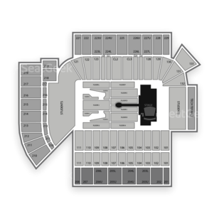 Bobby Dodd Stadium Seating Chart Concert