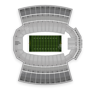 Clemson Tigers Football Seating Chart