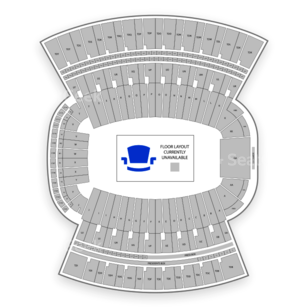Clemson Memorial Stadium Seating Chart Concert
