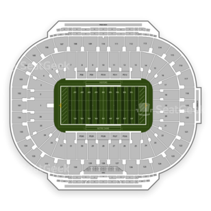Notre Dame Fighting Irish Football Seating Chart