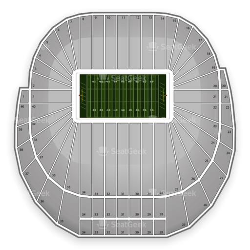Autzen Stadium Seating Chart