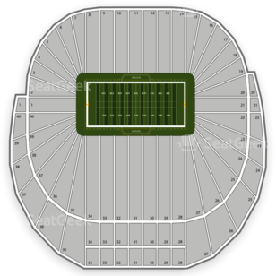 Autzen Stadium Seating Chart Parking