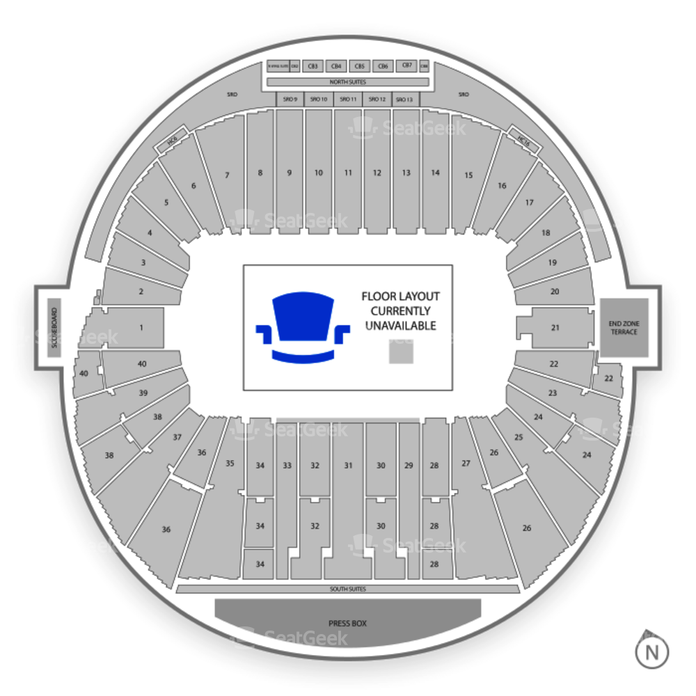 Autzen Stadium Seating Chart Concert